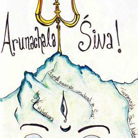 Arunachala Siva ! Illustrations by Stefanía Ólafsdóttir